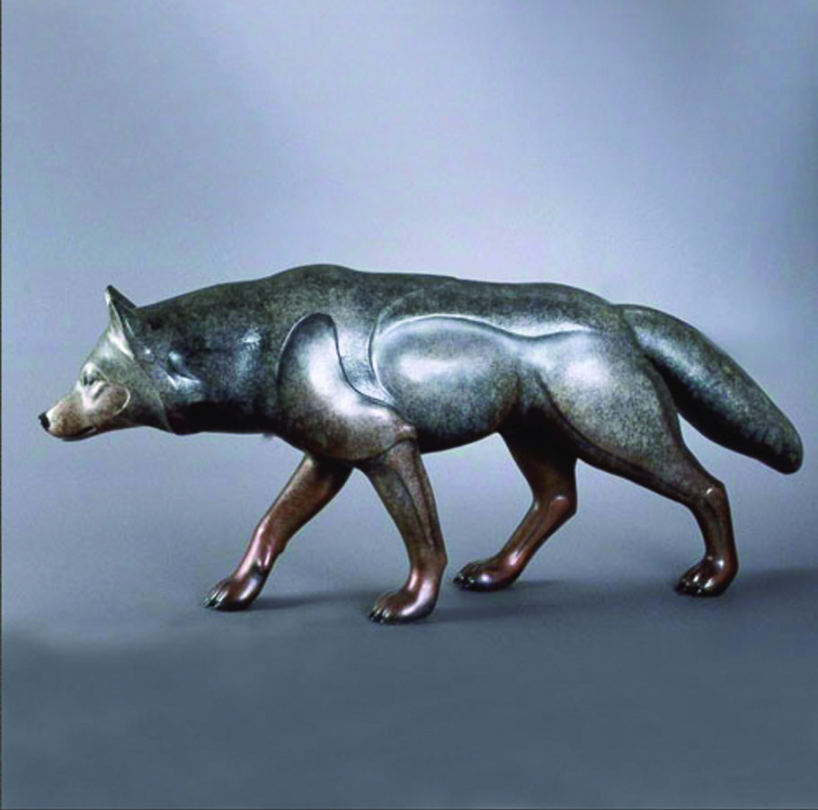 Amahok the Hunter Monument | Jacques & Mary Regat | Sculpture-Exposures International Gallery of Fine Art - Sedona AZ