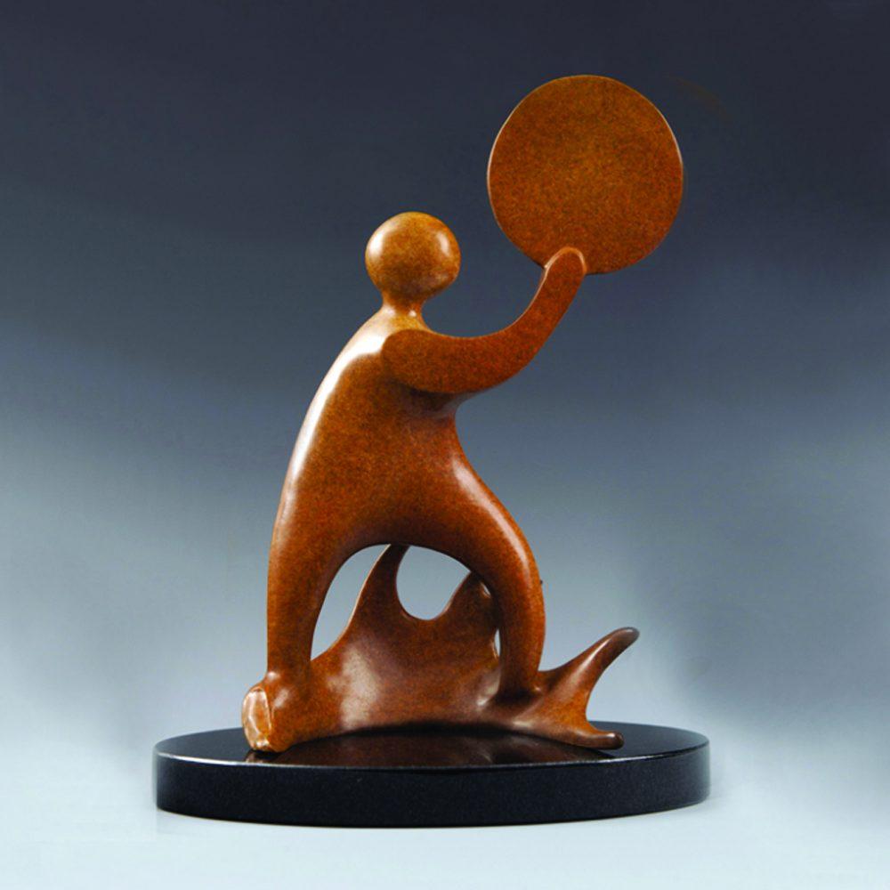 Distant Thunder   Jacques & Mary Regat   Sculpture-Exposures International Gallery of Fine Art - Sedona AZ