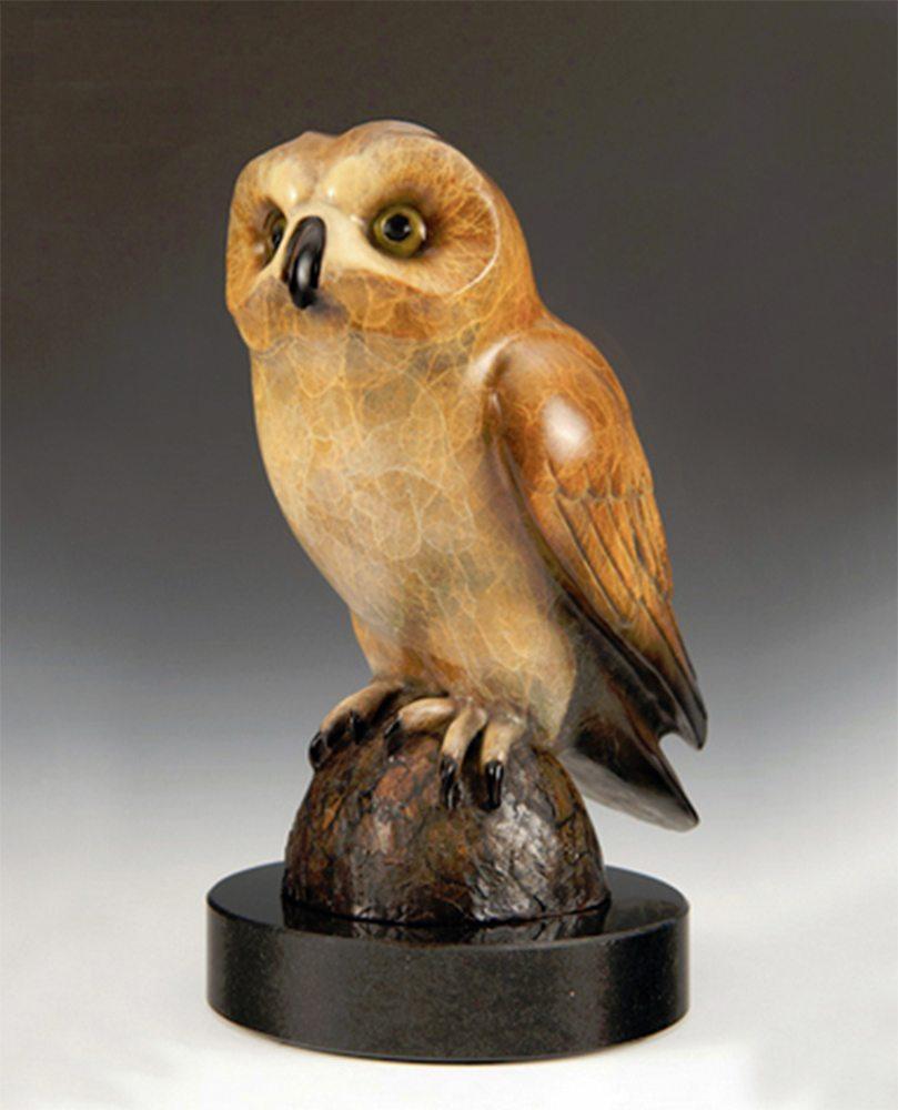 Little Hunter   Jacques & Mary Regat   Sculpture-Exposures International Gallery of Fine Art - Sedona AZ