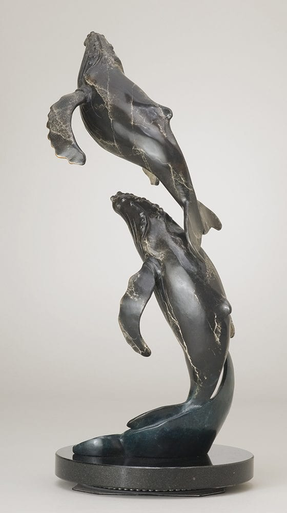 North to Alaska | Jacques & Mary Regat | Sculpture-Exposures International Gallery of Fine Art - Sedona AZ