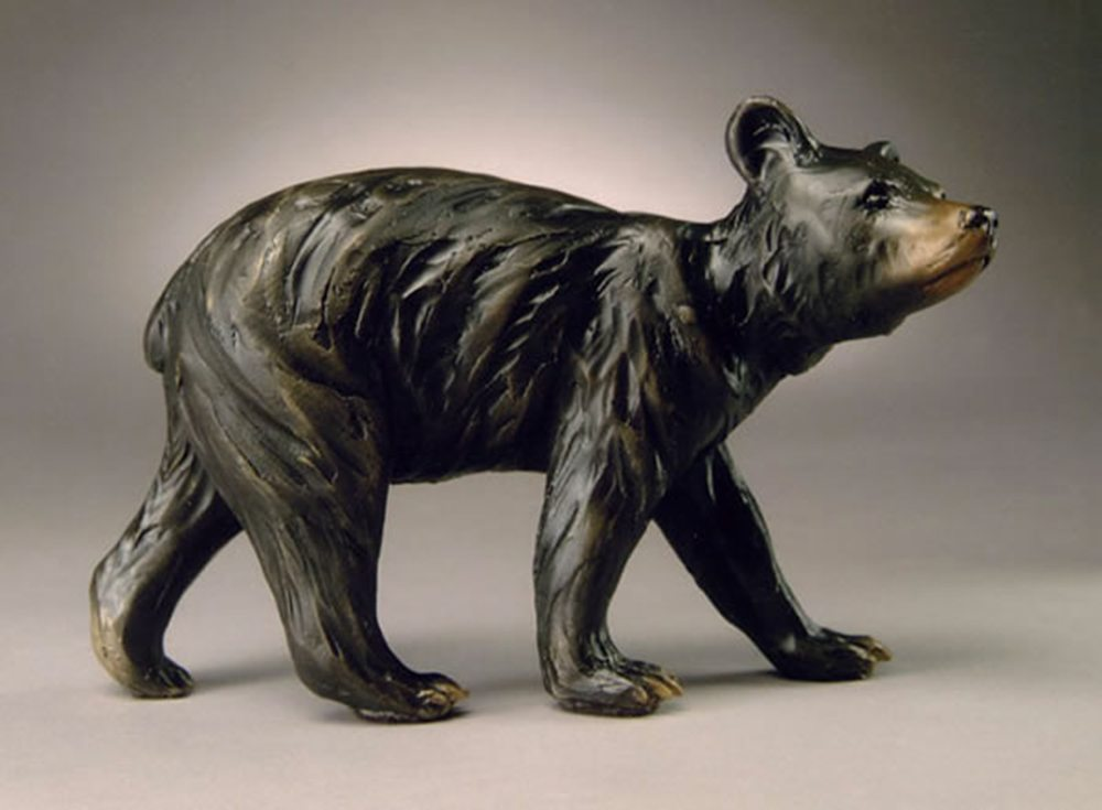 Ambling Bear | Diana Simpson | Sculpture-Exposures International Gallery of Fine Art - Sedona AZ