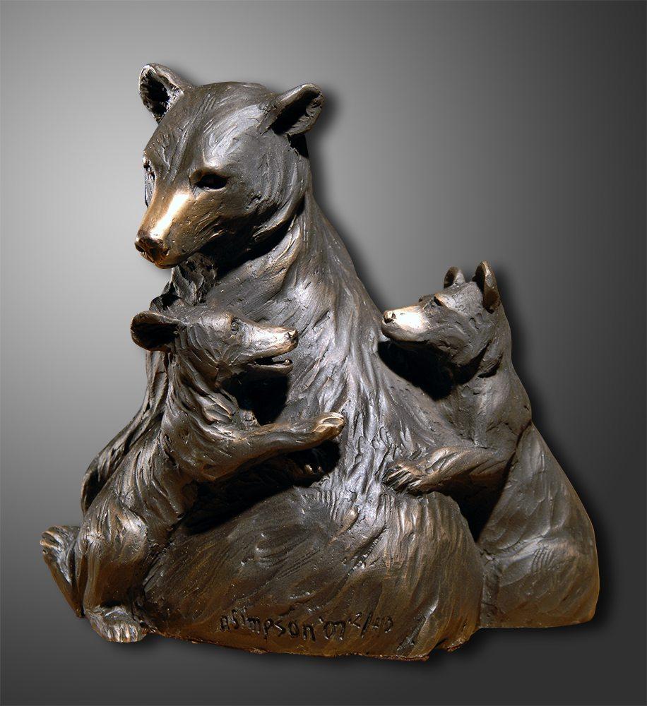 Sibling Rivalry | Diana Simpson | Sculpture-Exposures International Gallery of Fine Art - Sedona AZ