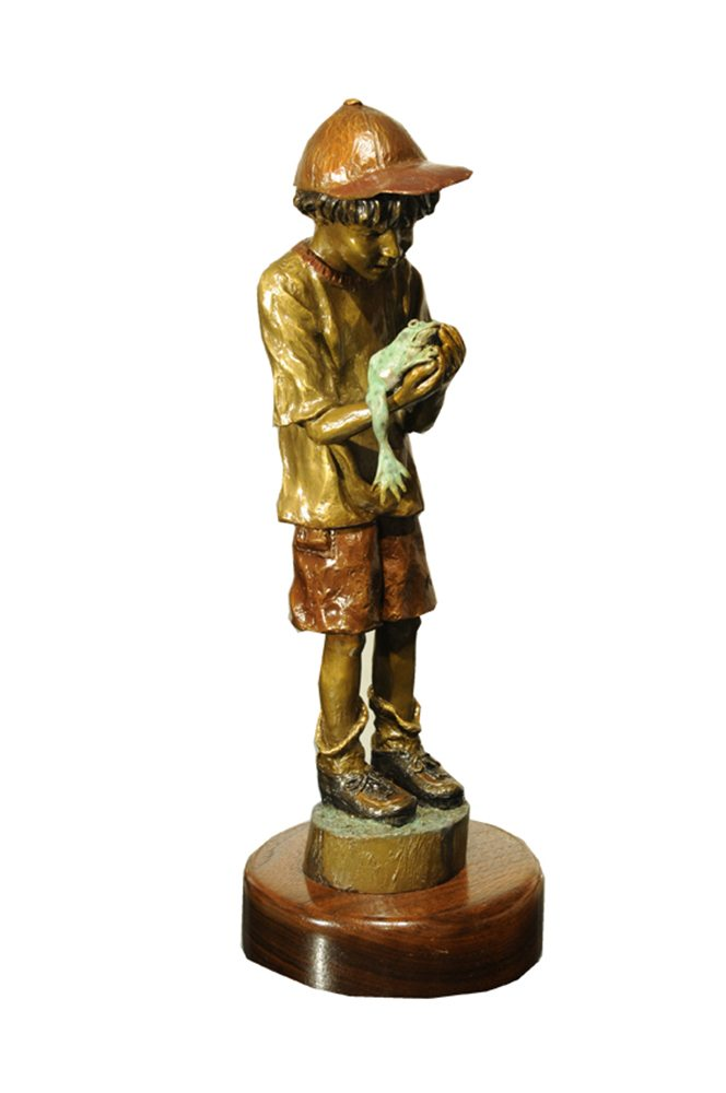 Jona Frog   David Soderberg   Sculpture-Exposures International Gallery of Fine Art - Sedona AZ
