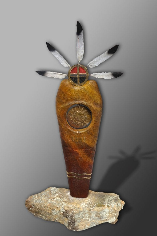 Sun Warrior | Bob Titley | Sculpture-Exposures International Gallery of Fine Art - Sedona AZ