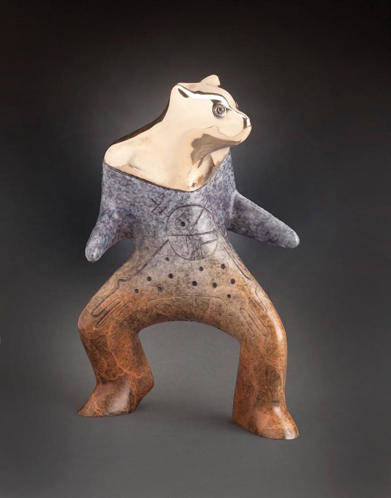 Creek | Gene & Rebecca Tobey | Sculpture-Exposures International Gallery of Fine Art - Sedona AZ