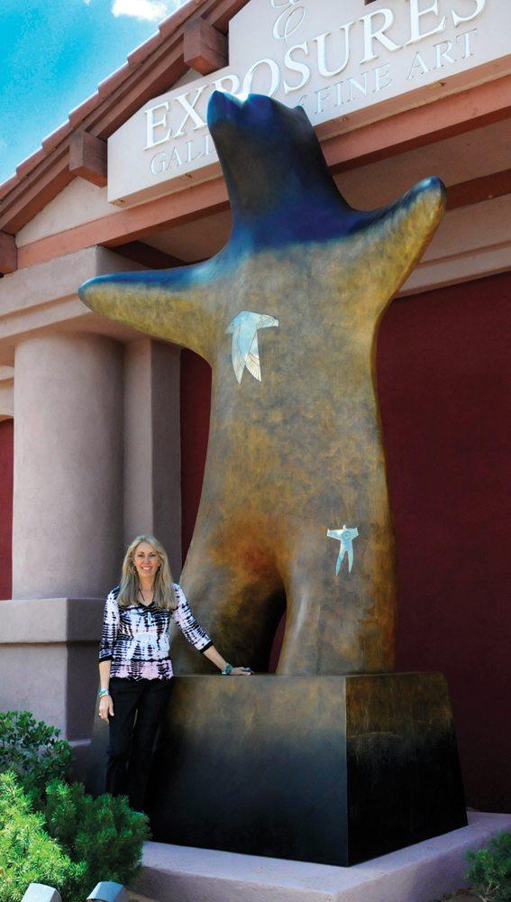Hand of Man | Gene & Rebecca Tobey | Sculpture-Exposures International Gallery of Fine Art - Sedona AZ