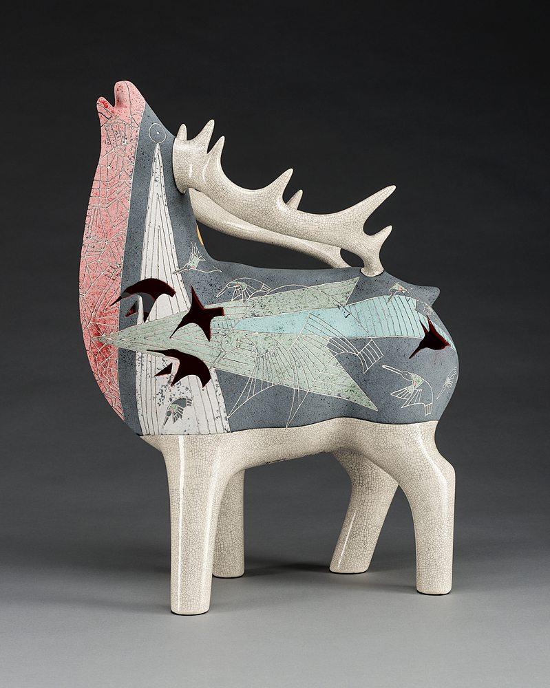Ruby Throat | Gene & Rebecca Tobey | Sculpture-Exposures International Gallery of Fine Art - Sedona AZ