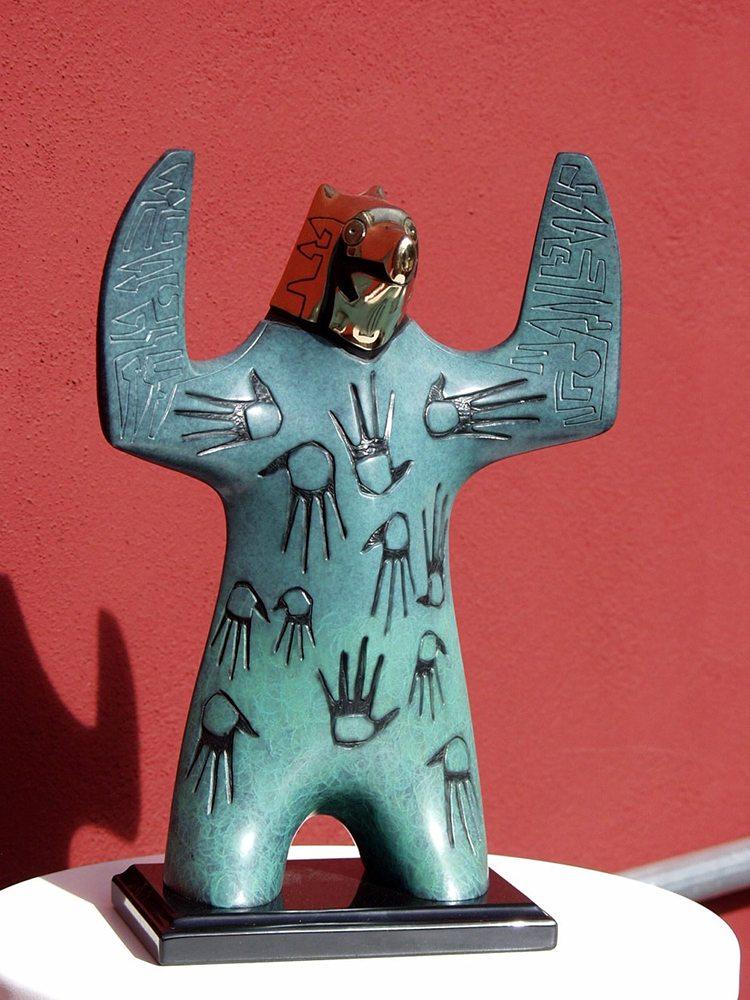 Sorcerers Coat | Gene & Rebecca Tobey | Sculpture-Exposures International Gallery of Fine Art - Sedona AZ