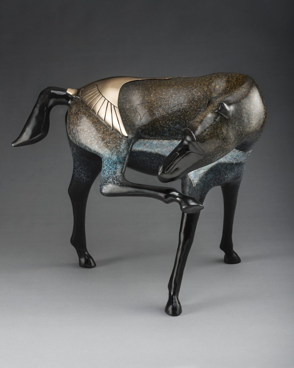 Year of the Horse | Gene & Rebecca Tobey | Sculpture-Exposures International Gallery of Fine Art - Sedona AZ