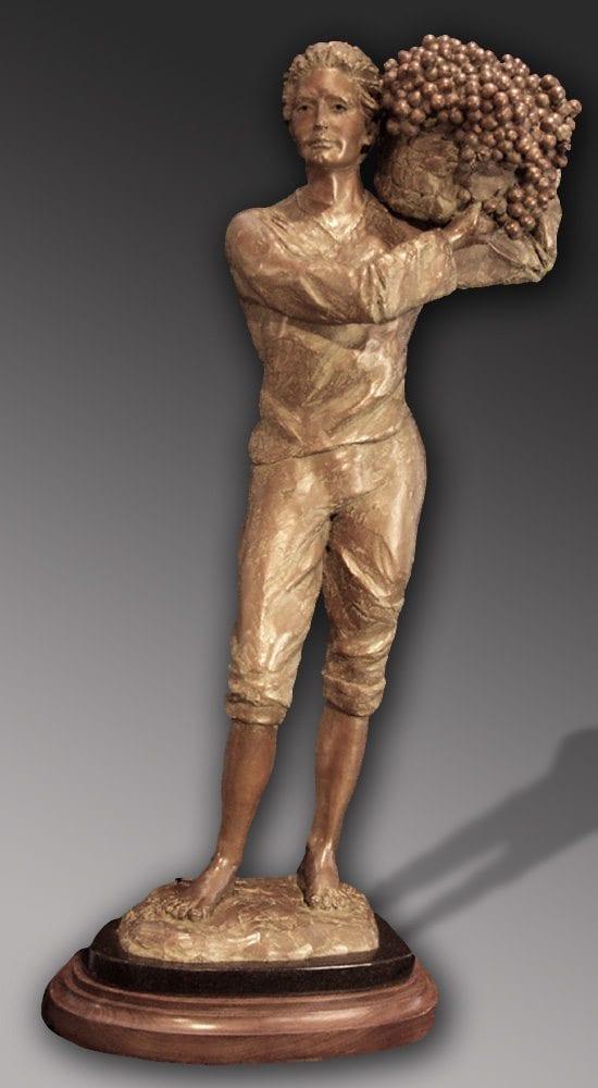 Cabernet | Susaane Vertel | Sculpture-Exposures International Gallery of Fine Art - Sedona AZ