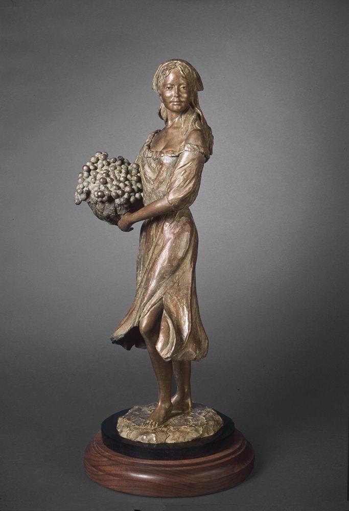 Chardonnay | Susaane Vertel | Sculpture-Exposures International Gallery of Fine Art - Sedona AZ