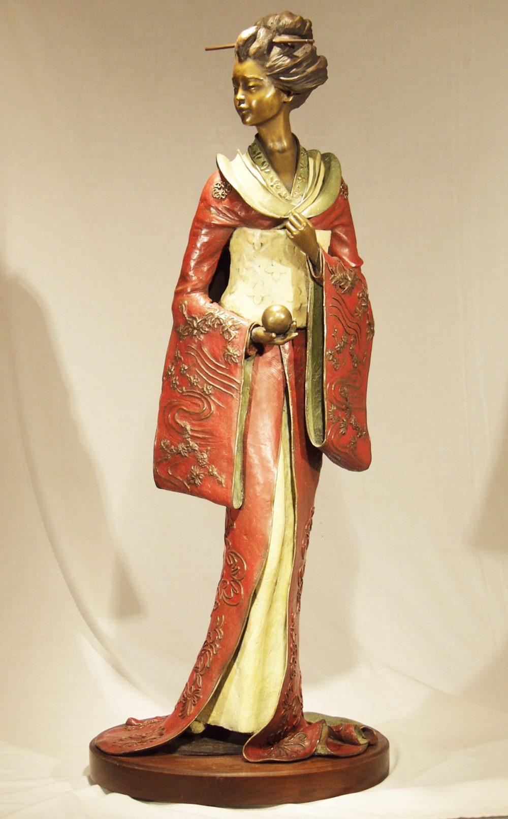 Geisha Elegance | Susaane Vertel | Sculpture-Exposures International Gallery of Fine Art - Sedona AZ
