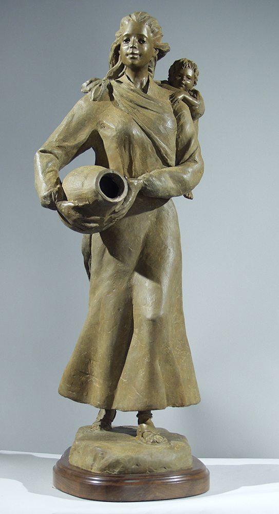 Waterbearer | Susaane Vertel | Sculpture-Exposures International Gallery of Fine Art - Sedona AZ