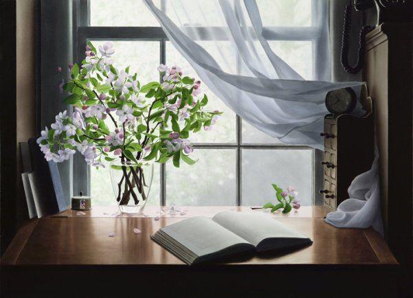 Apple Blossom | Alexander Volkov | Painting-Exposures International Gallery of Fine Art - Sedona AZ