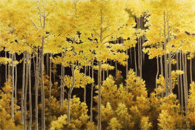 Aspen Light | Alexander Volkov | Painting-Exposures International Gallery of Fine Art - Sedona AZ