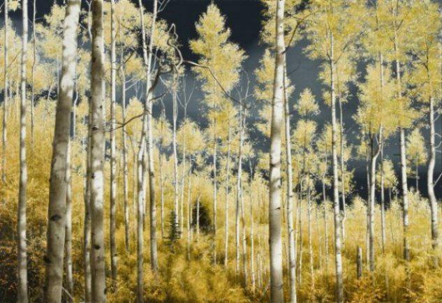 Aspen Moon | Alexander Volkov | Painting-Exposures International Gallery of Fine Art - Sedona AZ