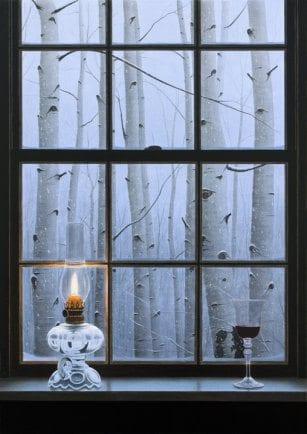 Aspen Window | Alexander Volkov | Painting-Exposures International Gallery of Fine Art - Sedona AZ