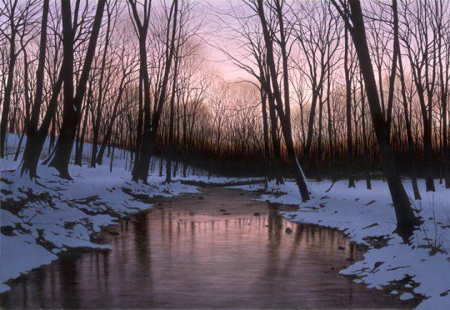 Night Journey | Alexander Volkov | Painting-Exposures International Gallery of Fine Art - Sedona AZ
