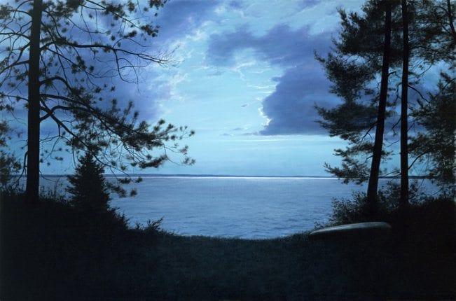 Night Traveler   Alexander Volkov   Painting-Exposures International Gallery of Fine Art - Sedona AZ