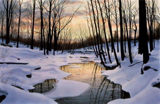 Nightfall | Alexander Volkov | Painting-Exposures International Gallery of Fine Art - Sedona AZ