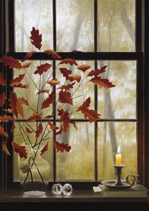 October Rain | Alexander Volkov | Painting-Exposures International Gallery of Fine Art - Sedona AZ