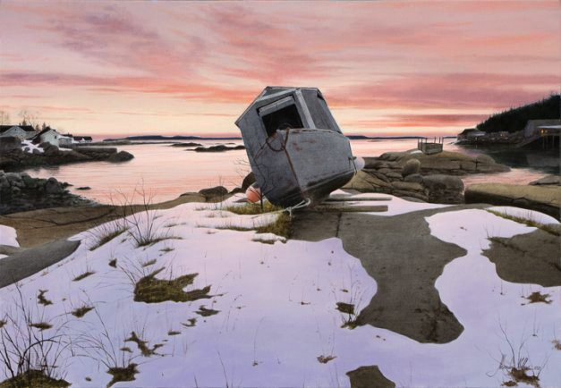 Off Season | Alexander Volkov | Painting-Exposures International Gallery of Fine Art - Sedona AZ