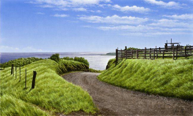 Road to Hana   Alexander Volkov   Painting-Exposures International Gallery of Fine Art - Sedona AZ