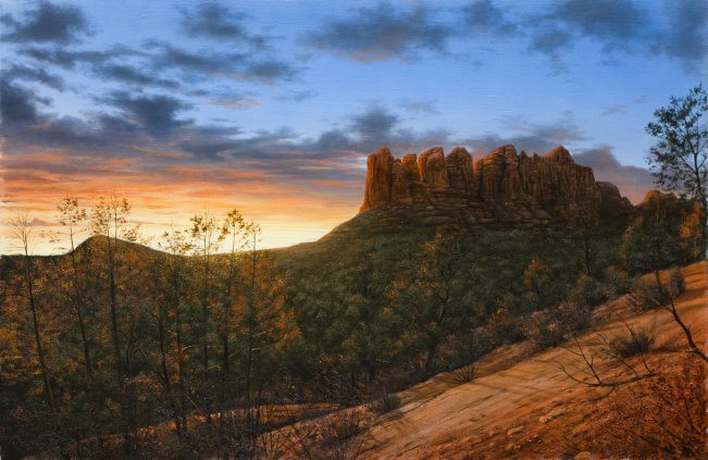 Sedona Sky | Alexander Volkov | Painting-Exposures International Gallery of Fine Art - Sedona AZ