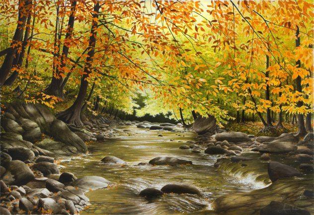 Towards the Fall | Alexander Volkov | Painting-Exposures International Gallery of Fine Art - Sedona AZ