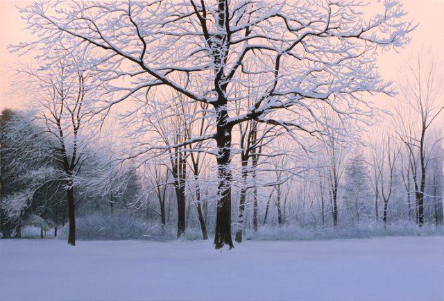Winter Sunrise | Alexander Volkov | Painting-Exposures International Gallery of Fine Art - Sedona AZ