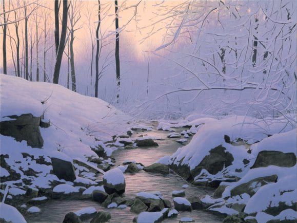 Winter's End | Alexander Volkov | Painting-Exposures International Gallery of Fine Art - Sedona AZ