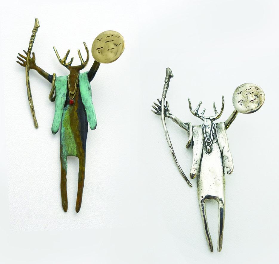 #129 The Sage | Bill Worrell | Jewelry-Exposures International Gallery of Fine Art - Sedona AZ