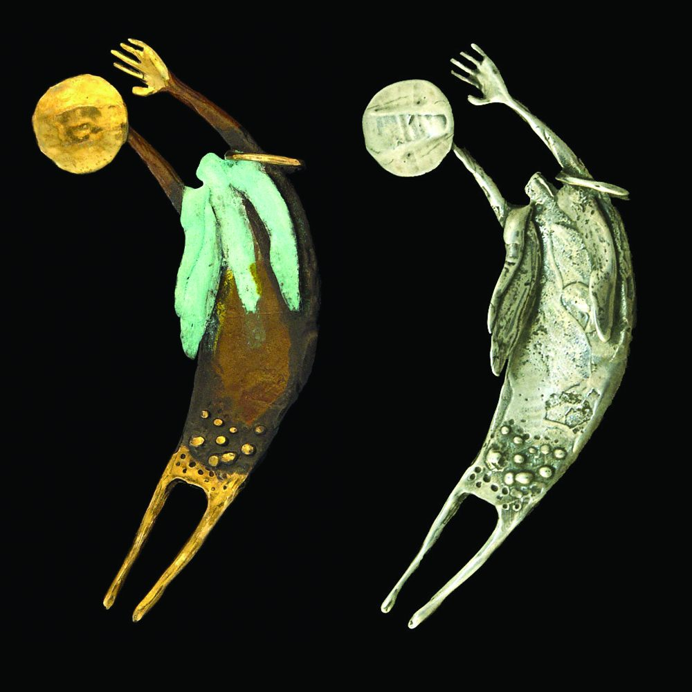 #71 Shaman Entering Spirit Journey | Bill Worrell | Jewelry-Exposures International Gallery of Fine Art - Sedona AZ