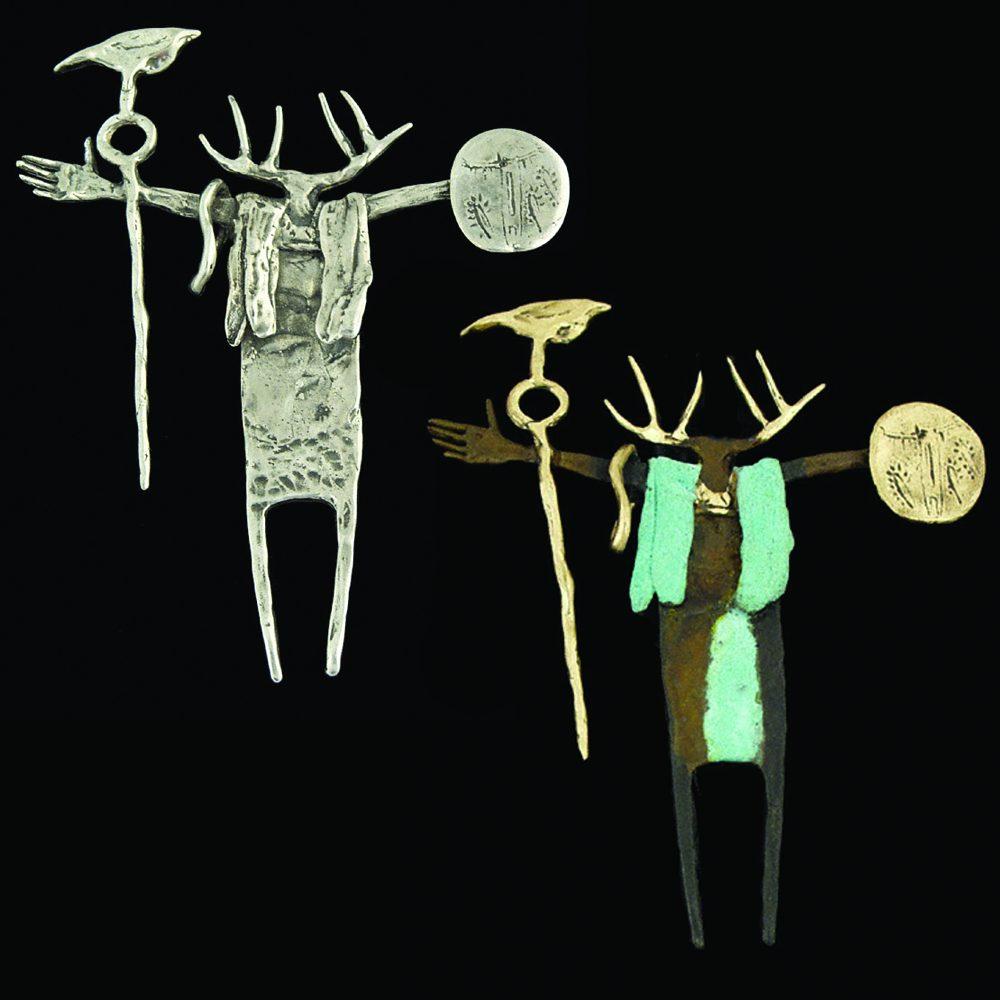 #80 The Counselor | Bill Worrell | Jewelry-Exposures International Gallery of Fine Art - Sedona AZ