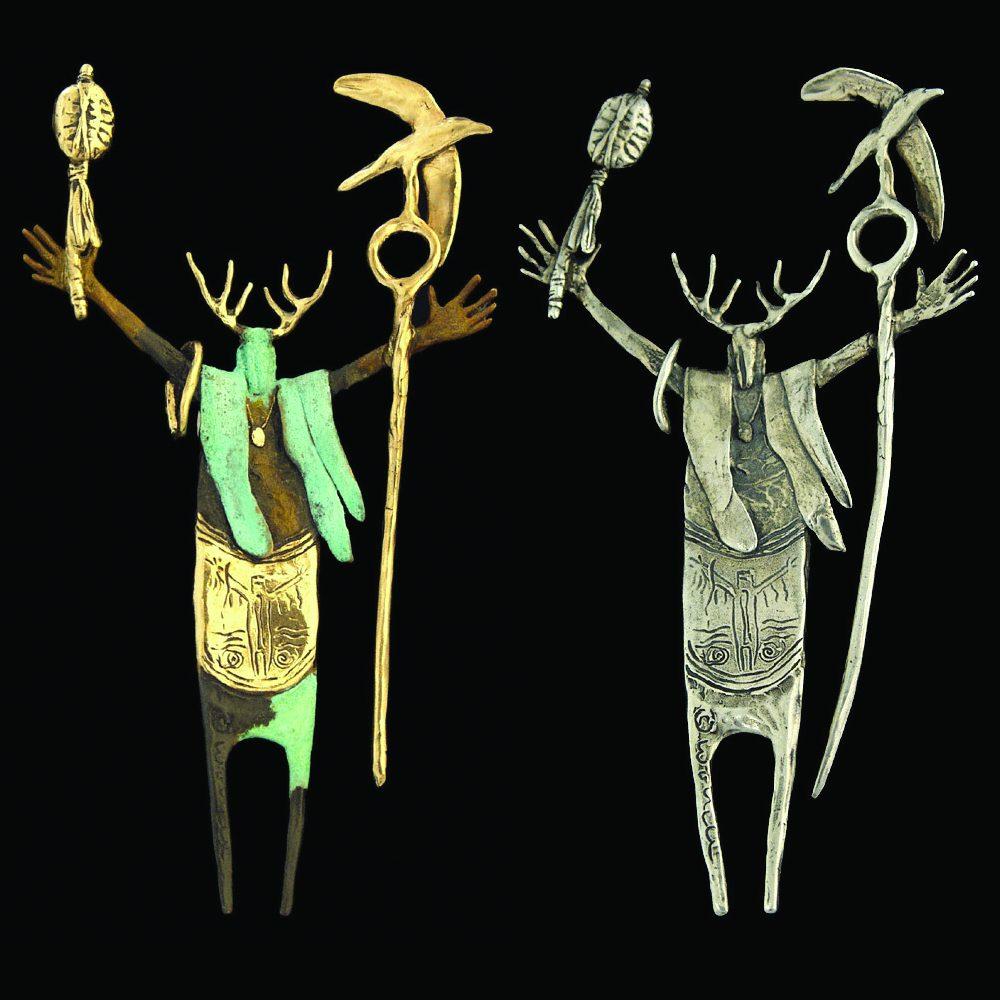 #95 Shaman of Inner Peace | Bill Worrell | Jewelry-Exposures International Gallery of Fine Art - Sedona AZ