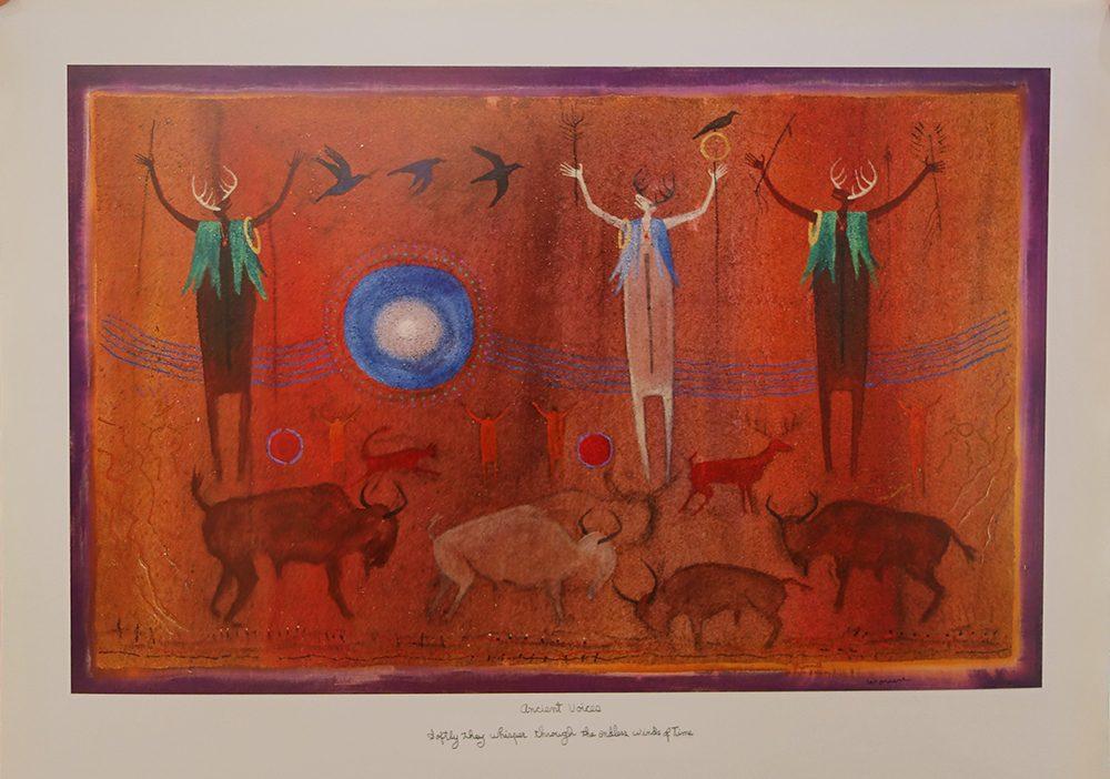 Ancient Voices   Bill Worrell   Posters-Exposures International Gallery of Fine Art - Sedona AZ