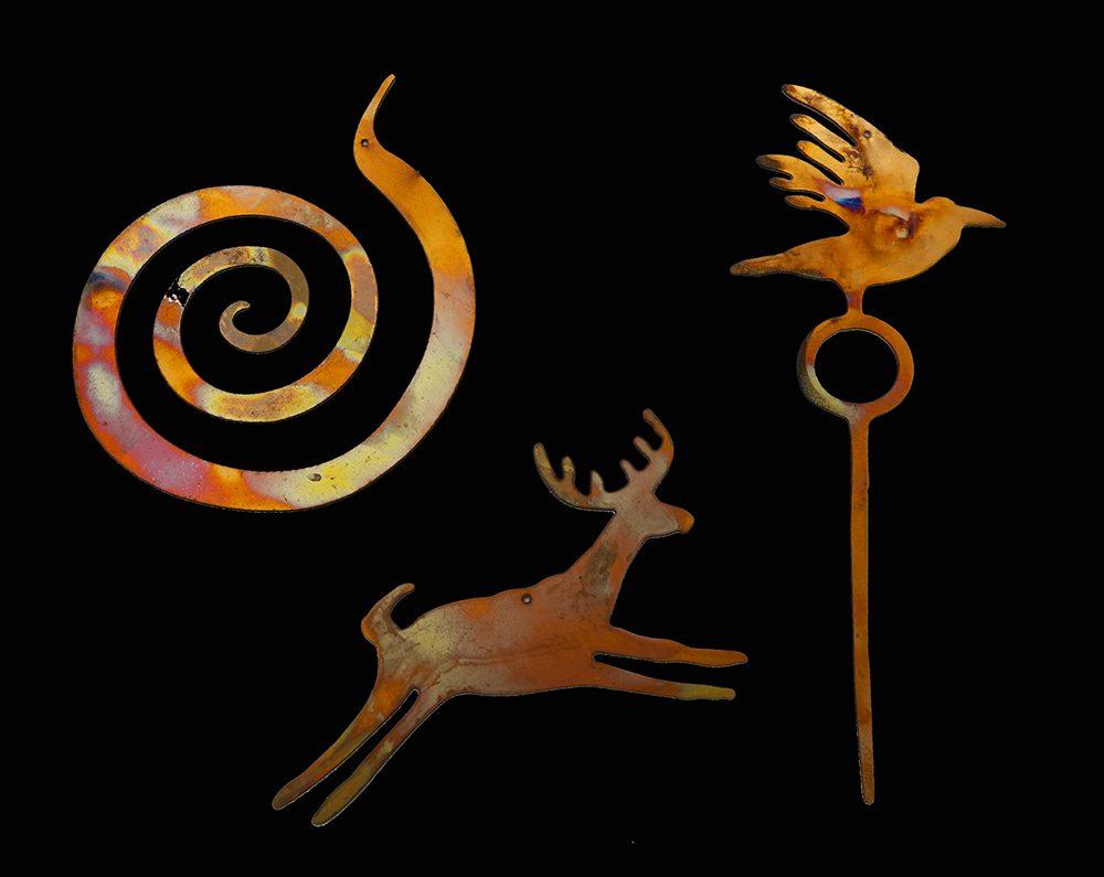 Bill Worrell Ornaments   Bill Worrell   Jewelry-Exposures International Gallery of Fine Art - Sedona AZ