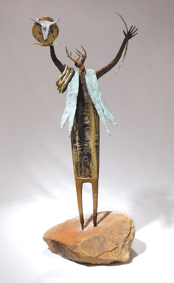 Creed of the Ancients | Bill Worrell | Sculpture-Exposures International Gallery of Fine Art - Sedona AZ