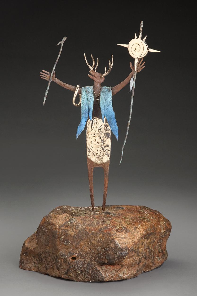 The Desert Dream   Bill Worrell   Sculpture-Exposures International Gallery of Fine Art - Sedona AZ