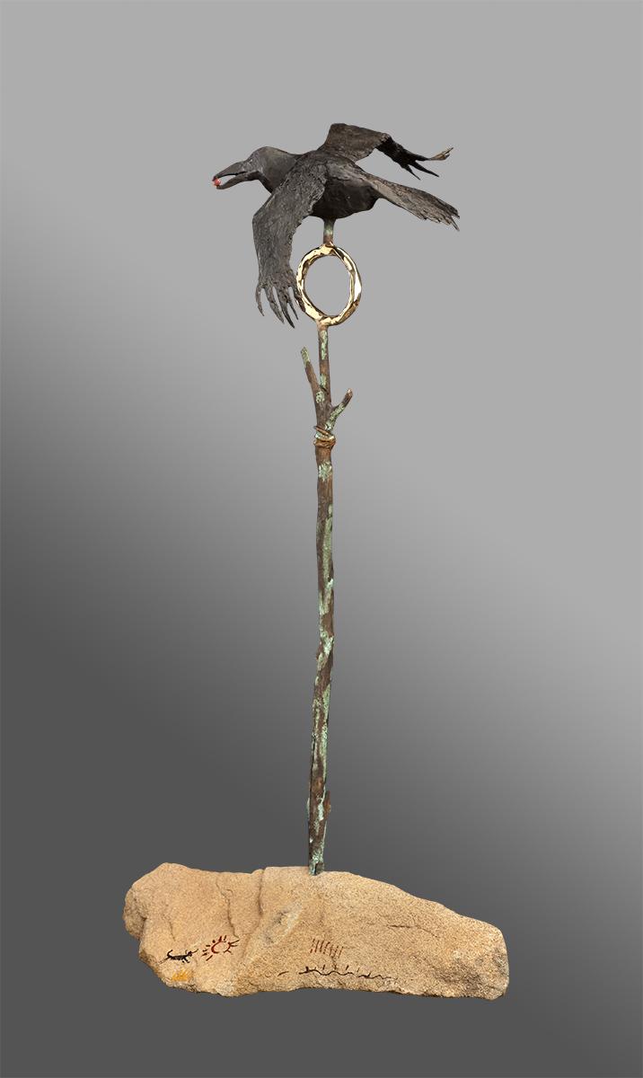 Espiritu | Bill Worrell | Sculpture-Exposures International Gallery of Fine Art - Sedona AZ