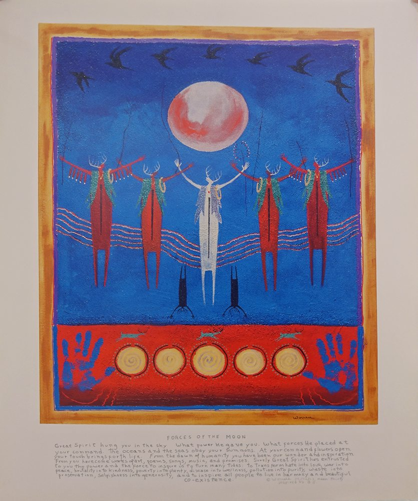 Forces of the Moon | Bill Worrell | Posters-Exposures International Gallery of Fine Art - Sedona AZ