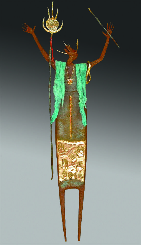 Friends & Angels   Bill Worrell   Sculpture-Exposures International Gallery of Fine Art - Sedona AZ