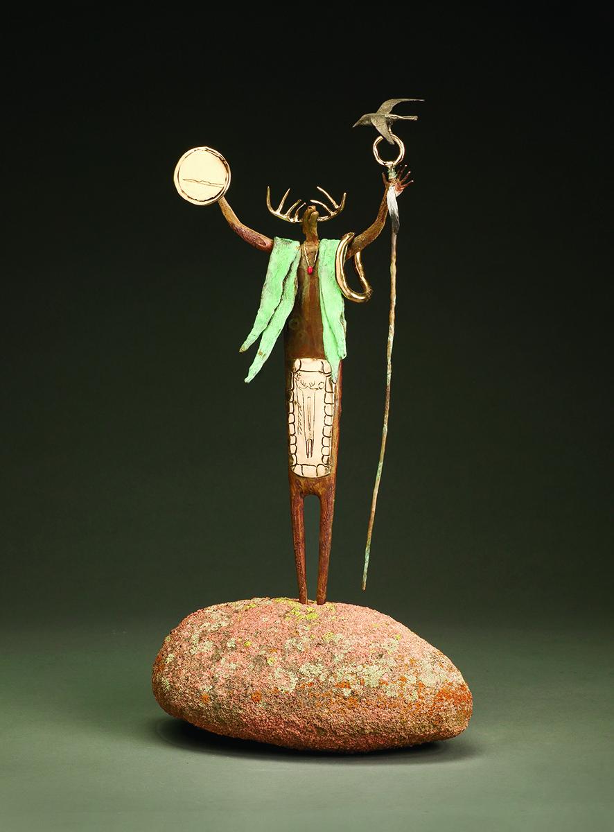 Gentle Persuasion | Bill Worrell | Sculpture-Exposures International Gallery of Fine Art - Sedona AZ