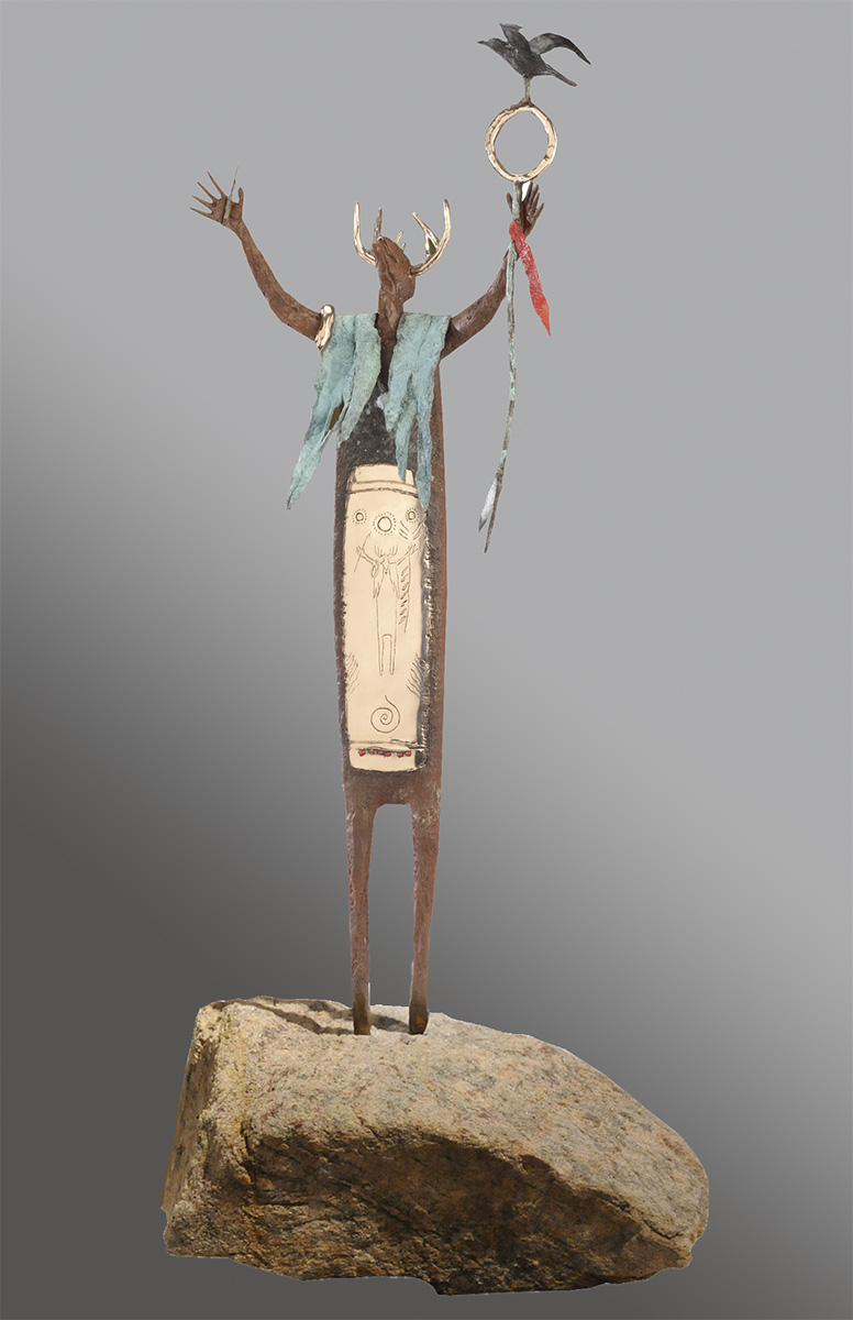 Harmony | Bill Worrell | Sculpture-Exposures International Gallery of Fine Art - Sedona AZ