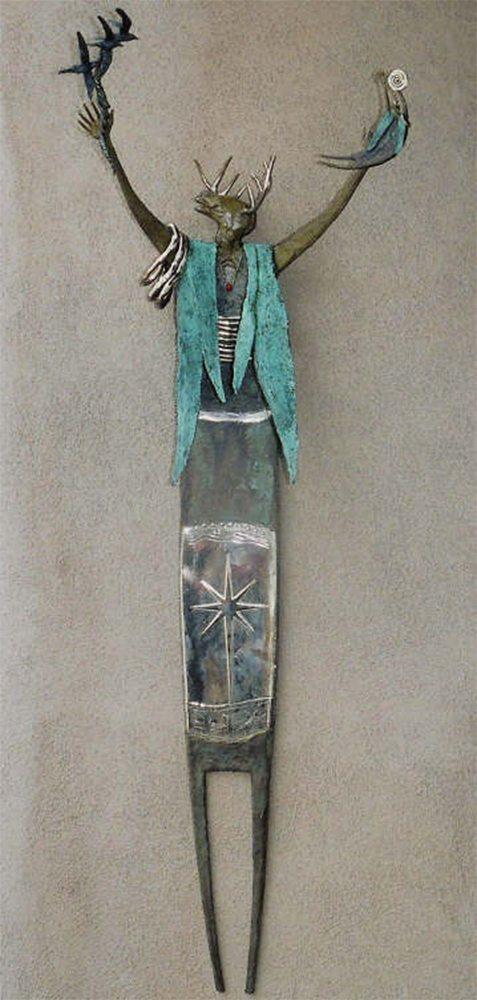 I Reach To Forces Unseen | Bill Worrell | Sculpture-Exposures International Gallery of Fine Art - Sedona AZ