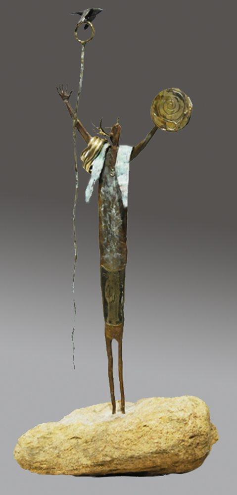 Mysteries in the Mudrugada | Bill Worrell | Sculpture-Exposures International Gallery of Fine Art - Sedona AZ