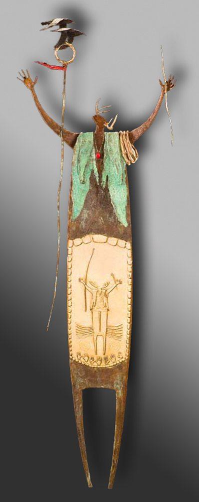 Ravens Dance Above Me | Bill Worrell | Sculpture-Exposures International Gallery of Fine Art - Sedona AZ