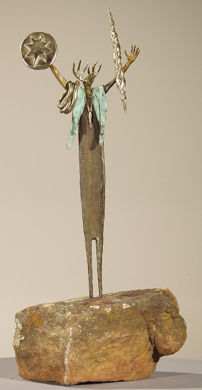 Secrets of The Wind | Bill Worrell | Sculpture-Exposures International Gallery of Fine Art - Sedona AZ