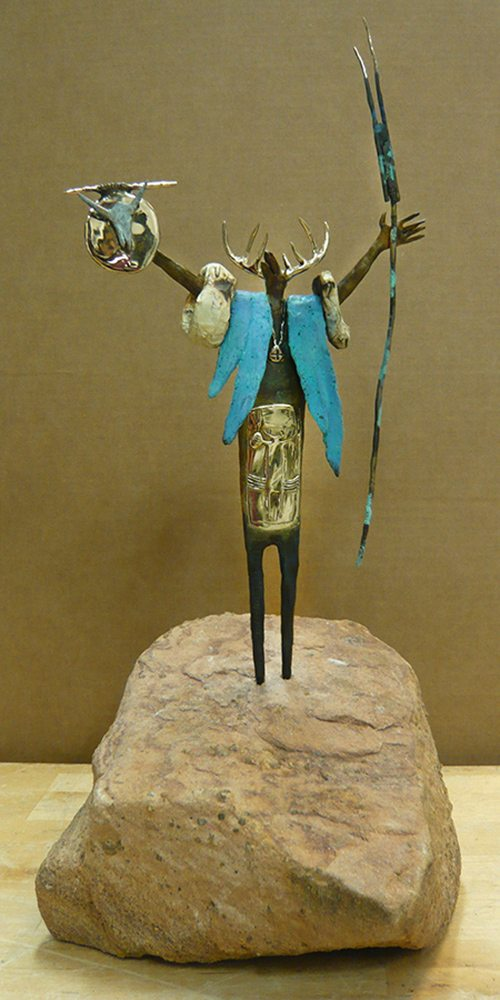 Shaman of Brotherhood | Bill Worrell | Sculpture-Exposures International Gallery of Fine Art - Sedona AZ
