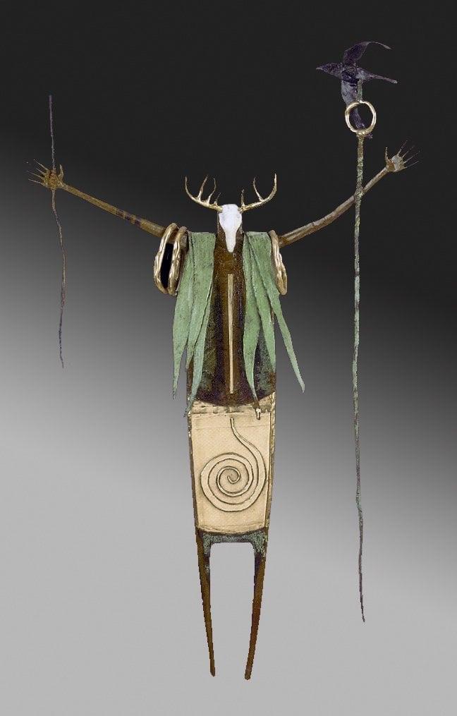 Shaman Of The Promised Light | Bill Worrell | Sculpture-Exposures International Gallery of Fine Art - Sedona AZ